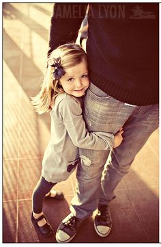 cute pose for Daddy's girl.