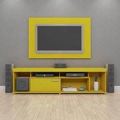 painel de tv com rack suspenso - Google'da Ara