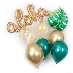 Jungle Party Decorations, Luau Theme Party, Aloha Party, Hawaiian Luau Party, Hawaiian Birthday, Luau Birthday, Safari Party, Hawiian Party, Birthday Ideas