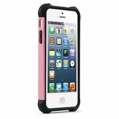 Naztech Dual-Layered Protective Cover for iPhone 5 Pink #SecPro #SecurityProUSA #Security #Pro #USA #Tactical #Military #Law #Promo #Deal #DailyDeals #MGS #MilitaryGearSale #Gear #Sale #EBAY #Ecommerce #Amazon #Hypercel #Naztech #Mobile #Tech #Technology #Music #Techno #Electronic #Audio #iPad #iPadCase #Case #Charger #Powerbank