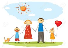 Happy Family Royalty Free Cliparts, Vectors, And Stock ...