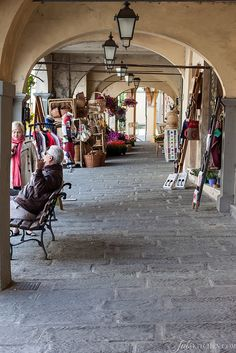 Visit the famous market in Greve in Chianti and mix in with the locals