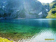 One of the seven Rila Lakes, Bulgaria.