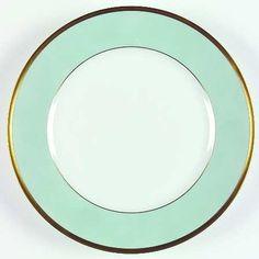 Arc En Ciel-Mint Green (Airain) By Chas Field Haviland traditional dinnerware