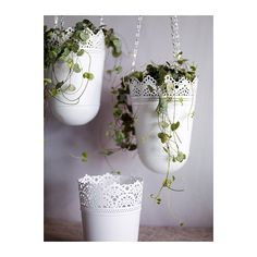 4.99 hanging planter from ikea, planter (not hanging) 2.99. Fudge yes! So easy to add color or leave as white