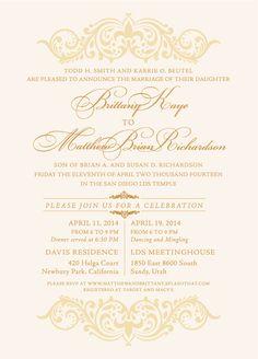 indian wedding invitation wording template puneet pinterest