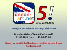 come join our anniversary celebration on limited spaces! spread the word - all art lovers welcome!