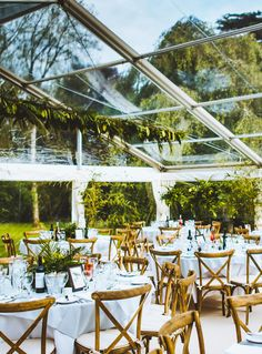 Cross Back Chairs - just perfect for a marquee wedding Clear Marquee, Marquee Hire, Marquee Wedding, Outside Furniture, Devon And Cornwall, Wedding Activities, Exeter, Somerset, Plymouth