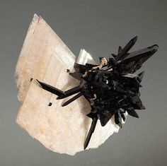 "ggeology: "" Epididymit and Aegirine "" #crystal #mineral"