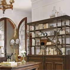 European Farmhouse - L'Acrobat Open Air Shelf in Blond - 018-61-51 - Stanley Furniture