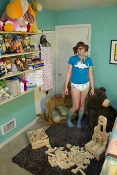 adult-baby girl #abdl #girl #diaper #adult-baby #adult-toddler