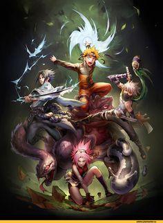 Naruto art
