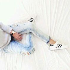 Super star & distressed jeans