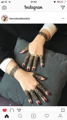 Henna Tattoo Designs Simple, Latest Henna Designs, Mehndi Designs Book, Finger Henna Designs, Mehndi Designs For Girls, Modern Mehndi Designs, Bridal Henna Designs, Mehndi Design Photos, Mehndi Designs For Fingers