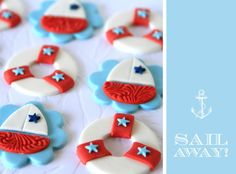 Red & light blue Baby Shower - Google Search