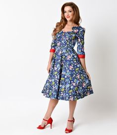 We've done our research, darlings. A bewitching floral homage to the vintage dresses of the 1950s, Ella is a midcentury...Price - $62.00-XPuKR0MK