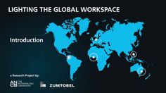 Lighting the Global Workspace - a fascinating research collaboration which examines global office applications – five cities, five continents, endless new insights - lightlive by Zumtobel Core Values, Research Projects, Continents, Collaboration, Insight, Cities, Knowledge, Lighting, Consciousness