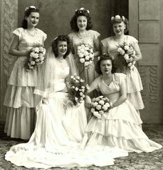 .I love this picture very much…love all the flowers their happy faces…lovely dresses….