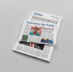 Trabalho Acadêmico: Jornal formador de opinião. (Designer: Douglas Junior) Link da publicação online: http://issuu.com/silvadesigner/docs/jornal