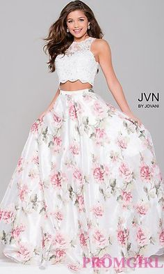 Shop for long prom dresses and long formal dresses at PromGirl. Long party dresses, floor-length prom dresses, long formal party dresses, and long evening gowns for special occasions. Two Piece Formal Dresses, Dressy Dresses, Two Piece Dress, The Dress, Cute Dresses, Beautiful Dresses, Dress Long, Elegant Dresses, Sexy Dresses