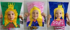 Tempera, Crafts For Kids, Crown, Creativity, Crafts For Children, Corona, Kids Arts And Crafts, Crowns, Kid Crafts