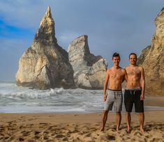 Praia da Ursa is a remote beach located near Cabo da Roca, a cape which forms the westernmost point of continental Europe. #gaycouple #gaytravel #gayportugal #gay #lgbt #lgbtq #gaymarriage #gayhusbands #husbands #lgbttravel #lgbtqtravel #gayhikers #gaycouplegoals #gayshirtless Couple Beach, Gay Couple, Gay Pride, Cabo, Couple Goals, Continental Europe, Husband, Cant Wait, Couples