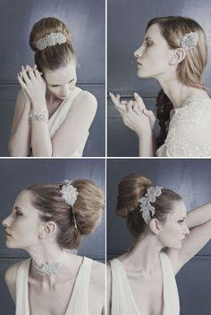 1920s Inspired Bridal Headwear... i love hair accessories