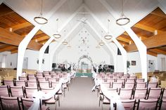 Chicago wedding ceremony venue - non-denominational Christian Church with several ministers and officiants on call