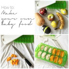 Mamahood: How to Make your Own Baby Food - Easy guide to making your own baby food! Cheap, healthy and easy - Step by step and recipes