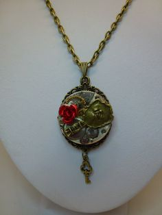 Hey, I found this really awesome Etsy listing at http://www.etsy.com/listing/150417698/steampunk-beauty-and-the-beast-charm