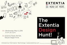 Congratulations to selected candidates from the Talent Hunt last Friday at Symbiosis Institute of Design! All the best for today. Enjoy the ‪#‎Design‬ hunt here at Extentia. www.extentia.com