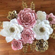 Fit for a Princess #nursery #nurserydecor #nurseryroom #nurseryinspo #modernnursery #projectnursey #paperflowers #paperflowerbackdrop #paperflowerwall #etsy #etsyshop #floresdepapel