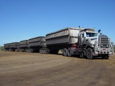 A Kenworth C510 used in the Queensland coalfields for carting coal to stockpiles and to loading points.