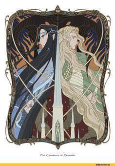 Ecthelion & Glorfindel