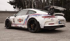 Check out this uniquely wrapped Porsche 911 GT3 RS by Skepple and Wrapzone featuring a rusty themed wrap vinly. Head inside to see more!