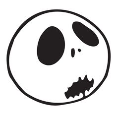 Jack Skellington Die Cut Vinyl Decal PV584