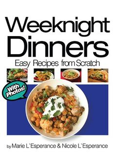 Free Kindle Book : Weeknight Dinners: Prepared in 30 Minutes (Easy Recipes from Scratch) - When life gets busy, eating good, nutritious food can be a challenge. The goal of this book is to offer some healthy and delicious meal ideas for quick Weeknight Dinners that are 30 minutes or less to prepare. Our mission was to keep these recipes simple, affordable, quick-to-make, healthy, and practical. The collection includes a wide range of noodle and rice dishes that can be quickly cooked on the…