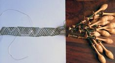 Creating Bobbin Lace with conductive thread. Stitching Worlds