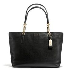 Madison East/West Tote In Leather on http://shefinds.shopstyle.com