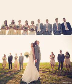 wedding party...