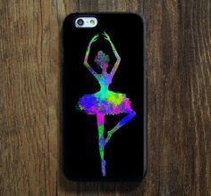 Abstract Color Ballet Dancer iPhone 6s Case iPhone 6s Plus Case iPhone 6 Cover iPhone 5S 5 iPhone 5C iPhone 4/4ss Galaxy S6 Edge Galaxy s6 s5 Galaxy Note 5 Phone Case 148