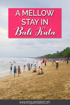 Our Surprisingly Mellow Stay In Bali Kuta Beautiful Places To Visit, Cool Places To Visit, Asia Travel, Wanderlust Travel, Travel Reviews, Ultimate Travel, Travel Couple, Summer Travel, Travel Around The World