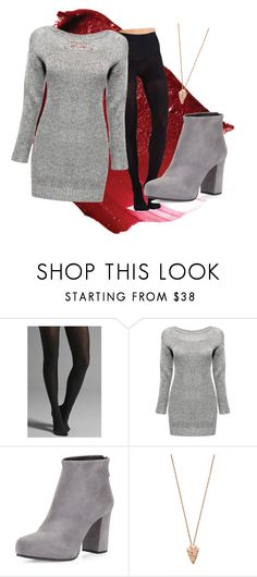 """""""sweater weather"""" by sk4y ❤ liked on Polyvore featuring Commando, Prada and Pamela Love"""