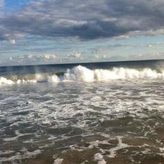 Photo taken at Misquamicut Beach by Mike Gordon on 9/10/2012