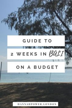 Bali is one of my favourite places in the world. I've been 3 times and every time love it even more. Here is my 2 week guide for a first trip, on a reasonable budget :) #bali #travel
