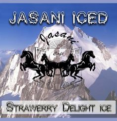 Jasani Iced - Strawerry Delight Ice