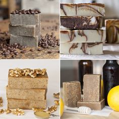 Gifting Your Homemade Soap!   ~~Also,recipes for Citrus Honey Scotch Ale Soap, Cafe Soap, Chocolate Hazelnut Soap, Peppermint Mocha Soap and Honey Walnut Milk Soap.
