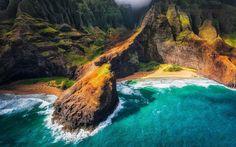 213198-landscape-nature-Kauai-Hawaii-beach-cliff-sea-mountain-coast-aerial_view.jpg (1920×1200)