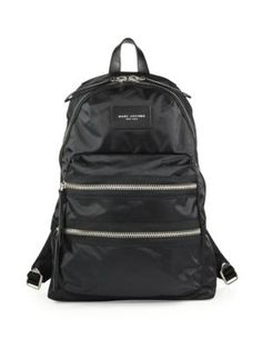 MARC JACOBS Nylon Backpack. #marcjacobs #bags #nylon #backpacks #