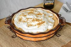Gojee - Pumpkin Cream Pie with Gingerbread Crust by Cooking and Beer